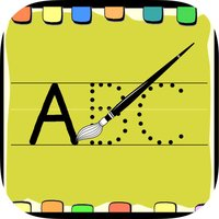 The English HD for Children: Learn to write the letters ABC and English words used