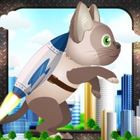 Jetpack Cat Madness: Animal Warriors Adventure