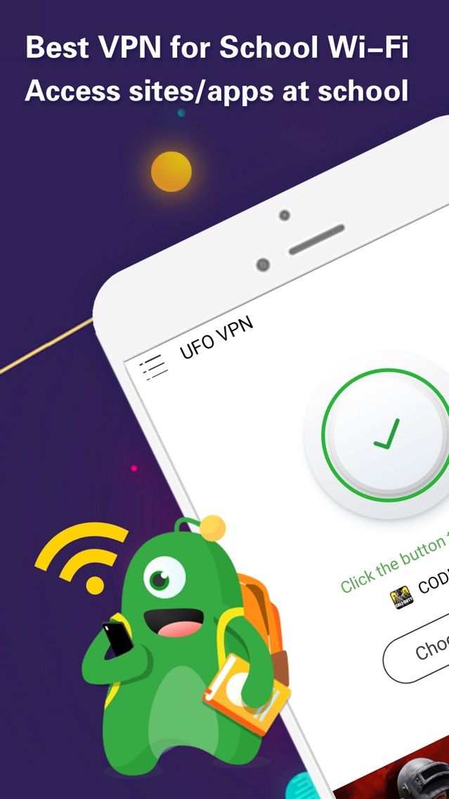 VPN - UFO VPN App for iPhone - Free Download VPN - UFO VPN for