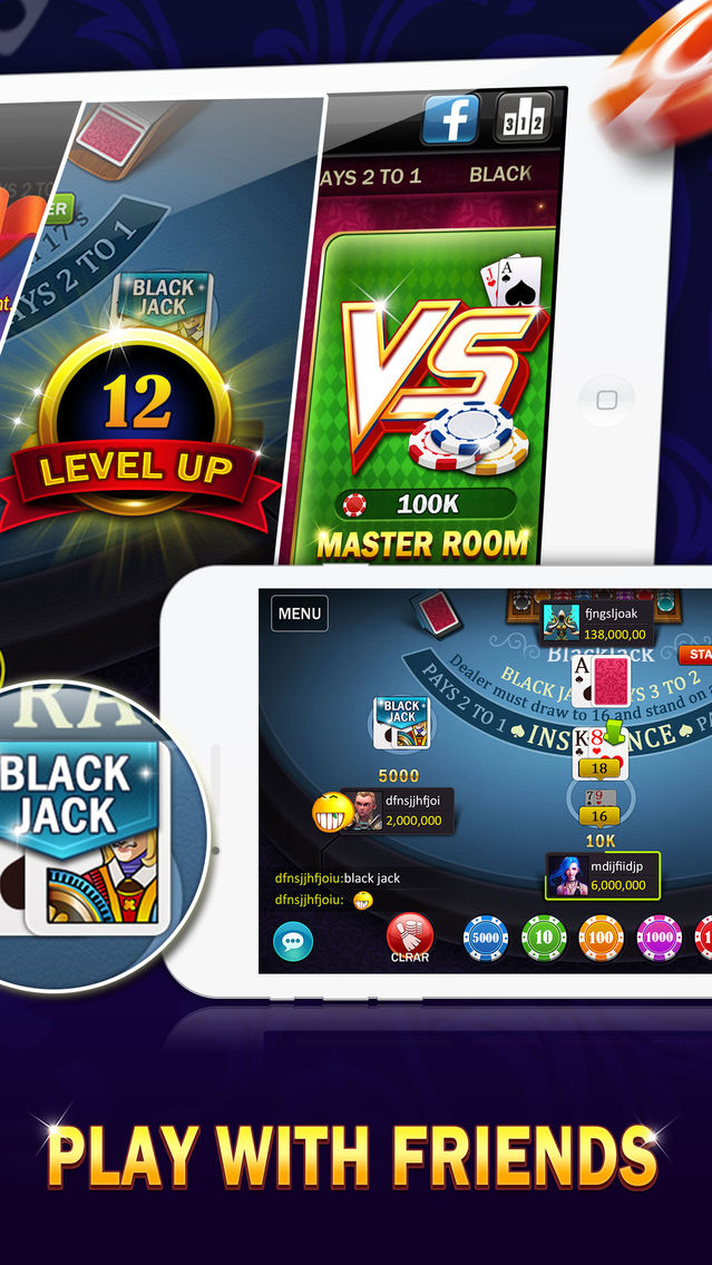 Jackpot party mobile app