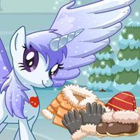 Pony Ready For Winter - Pony physics game