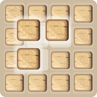 Wooden Block Puzzle Classic - wood rolling sky