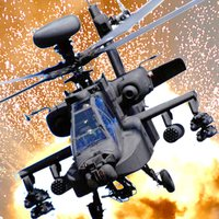 Apache Helicopter Combat