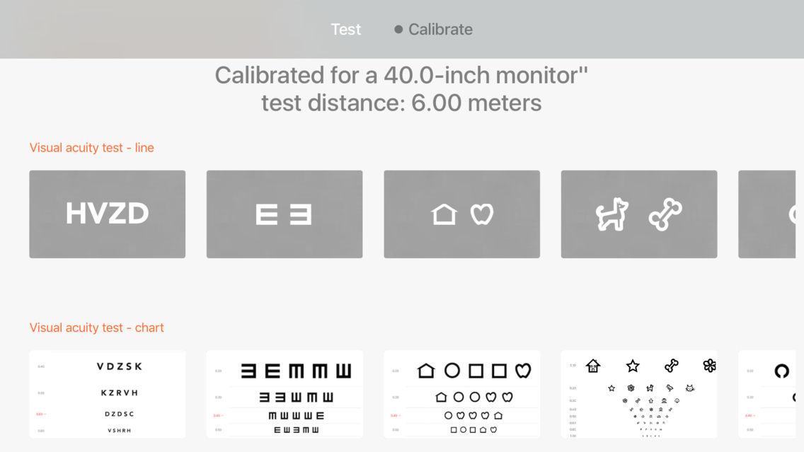 TV Vision Test App for iPhone - Free Download TV Vision Test