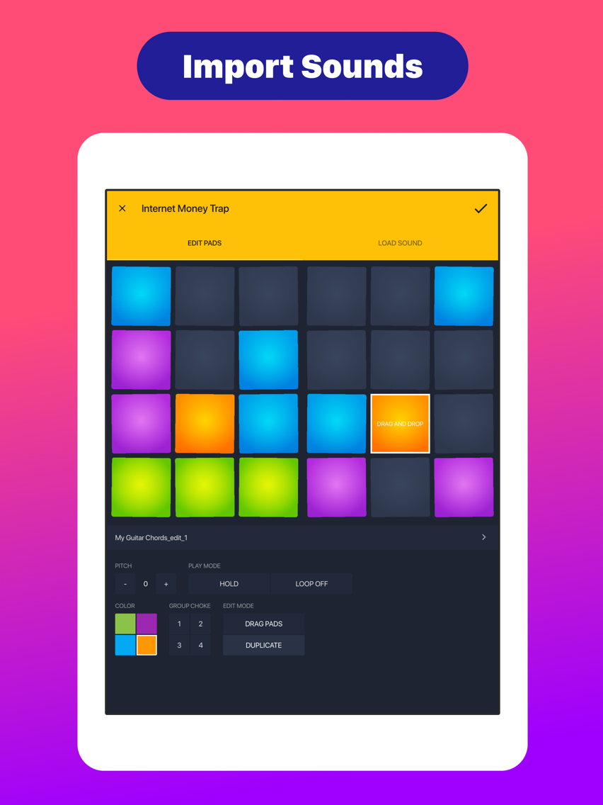 Drum Pads 24 - Beats Maker App for iPhone - Free Download