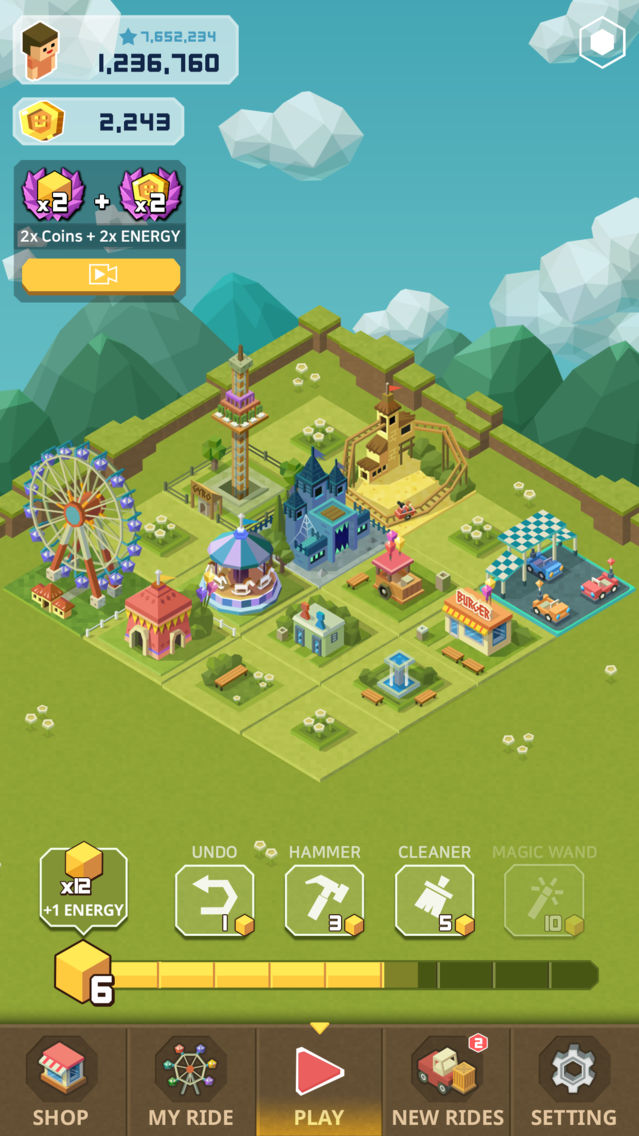 2048 Tycoon: Theme Park Mania App for iPhone - Free Download