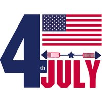 America Independence Day Fourth July Sticker Pack