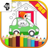 Car Kids Coloring Book Pro