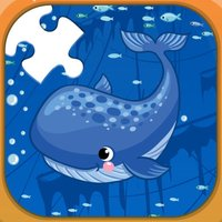 Sea animals jigsaw puzzle games for kids
