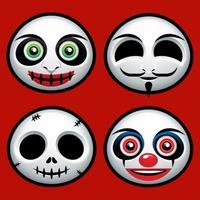 Zombie Emoji Horrible Troll Faces Spooky Emoticons