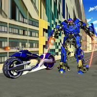 A Super Hero Police Robot