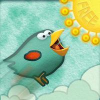 tiny bird wings and jump