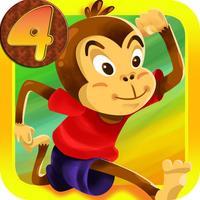 Banana Monkey Jungle Gorilla Run Lite