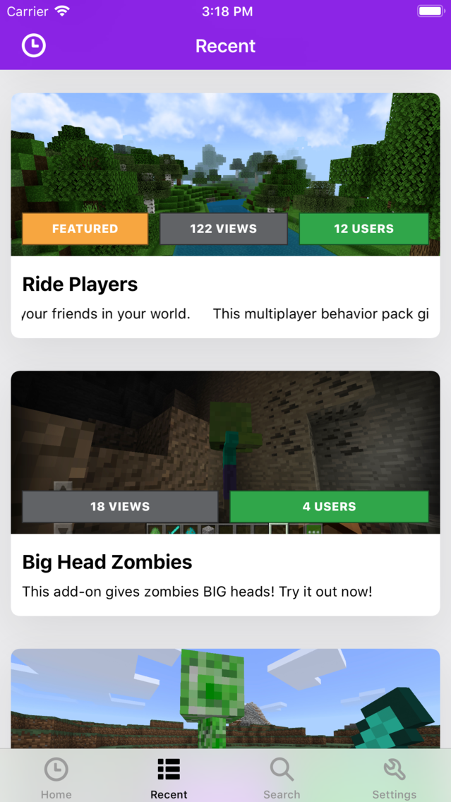 Addons Pro PE for Minecraft App for iPhone - Free Download