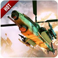 Apache Gunship Helicopter Battle