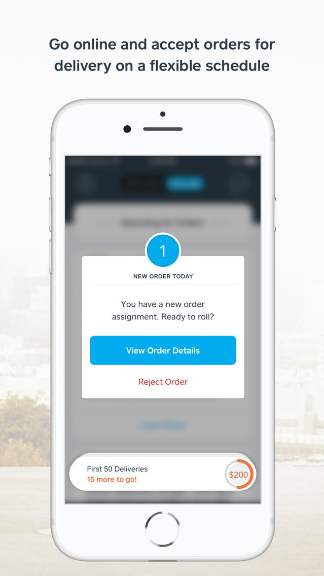 Caviar Courier App for iPhone - Free Download Caviar Courier