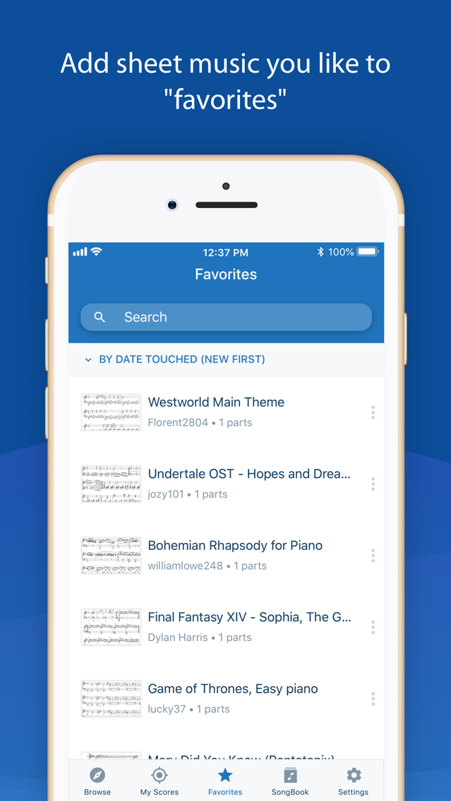 MuseScore: sheet music App for iPhone - Free Download
