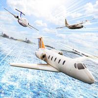 Plane Pilot Simulator . Virtual Airplane 3D
