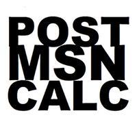 Post Msn Calc