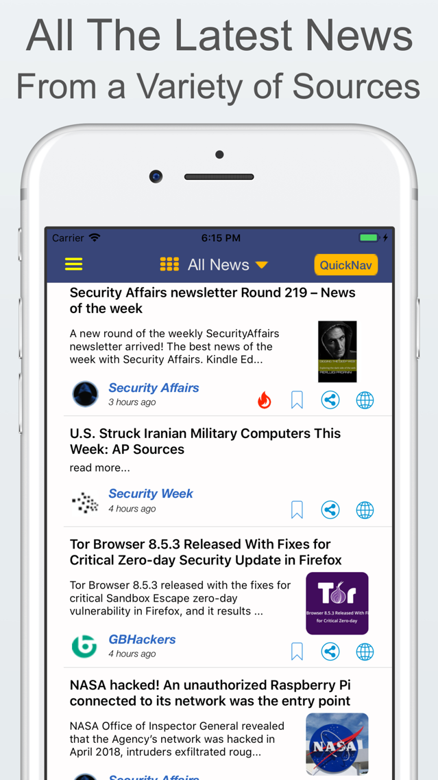 CyberNews - Cyber Security App for iPhone - Free Download