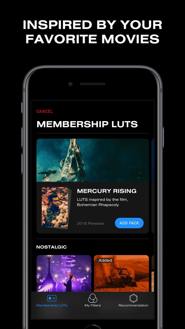 24FPS - Video Filter & LUT App for iPhone - Free Download
