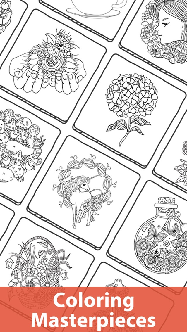 Doodle Color - Coloring Book App For IPhone - Free Download Doodle Color - Coloring  Book For IPhone & IPad At AppPure