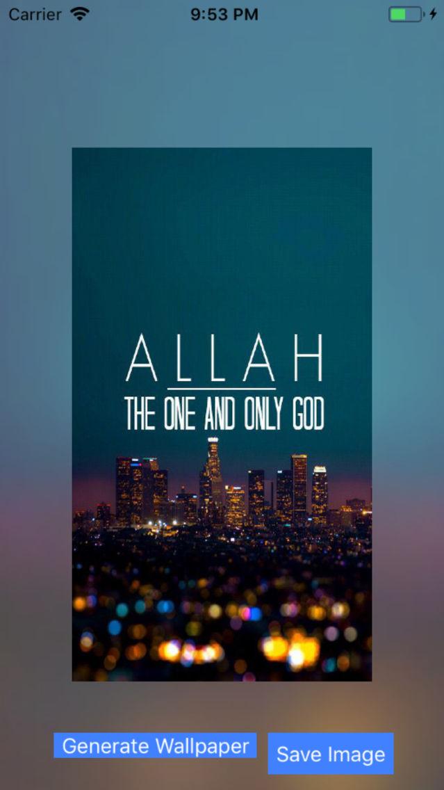Allah Akbar Wallpaper App For Iphone Free Download Allah