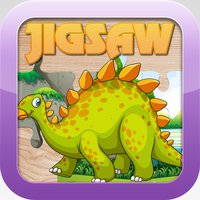 Dinosaur Jigsaw Puzzles Games – Learning Free for Kids Toddler and Preschool
