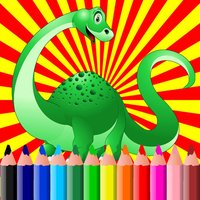 Dinosaur Coloring Book Pages For Kids Toddler Free