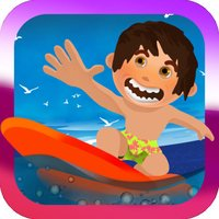 Wipeout Surfer Dude Splash Dash :  A Perfect Riptide Surf Wave Riding Adventure at Shark Island - FREE