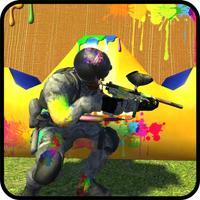 Color Gun Shooting