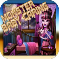 Monster Baby Born Game - Baby Caring Monster Games