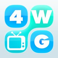 4 Word TV Game - Find the link and guess the TV show