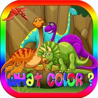 Colour Skills Test Dinosaur for Kid 2 3 4 Year Old