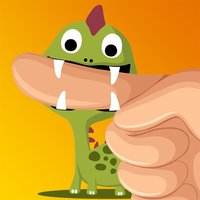 Finger Snappers Dinosaurs