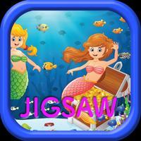 Funny Cartoon Mermaids Jigsaw Puzzles Games Box