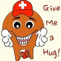 Happy Swiss Emojis