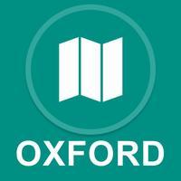Oxford, UK : Offline GPS Navigation