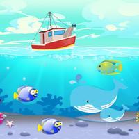 لعبة البحث عن الحوت الازرق