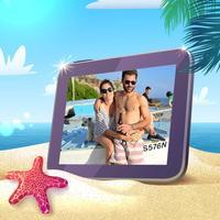 Holiday Beach Photo Frame - Photo Editor