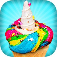 Unicorn Ice Cream Maker Game! Kawaii Rainbow Chef