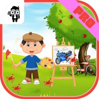 Vehicles Kids Coloring Book Pro