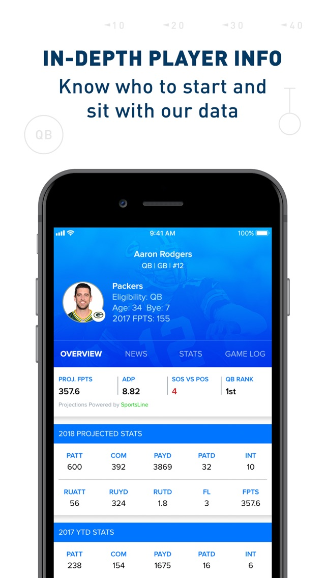 CBS Sports Fantasy App for iPhone - Free Download CBS Sports