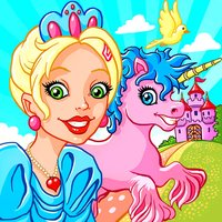 A Princesses Fairy Tale Jigsaw Puzzle Game and Horses Coloring Book – Jigsaws puzzles games for kids toddlers and unicorns