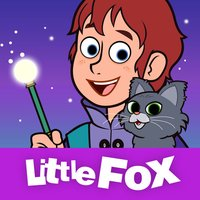 Wizard and Cat - Little Fox Storybook