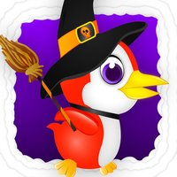 Baby Penguin Jump - Halloween Edition