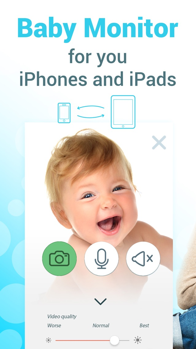 Babyphone 3g - baby monitor  App for iPhone - Free Download