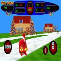 3D Santa's Sleigh Racing