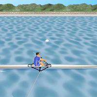 Cardiac Coherence : Rowing