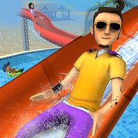 Aqua Park Speed Coaster Slide Cool Water Race Simulator Game